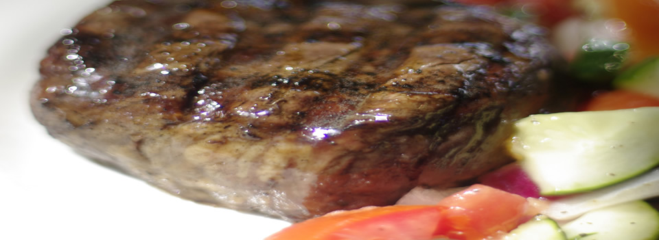Try Vinegar Jim's famous in-house aged hand cut filet mignon.